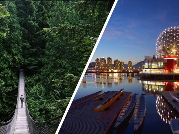 Vancouver City Finest plus North Shore Adventure (Private Tour Full day)