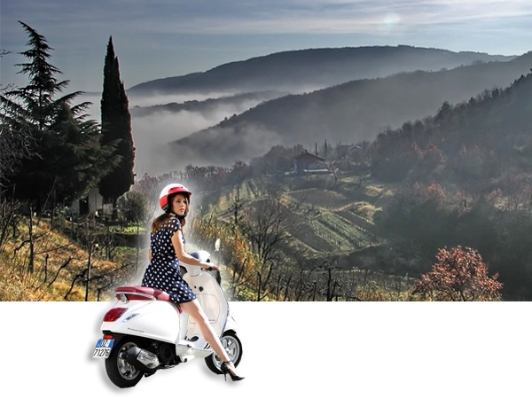 Vespa Countryside Tour