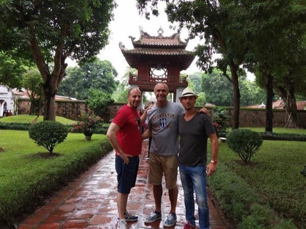 Private tour guide David