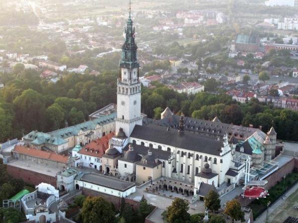 Monastery in Czestochowa - religion capital of Poland