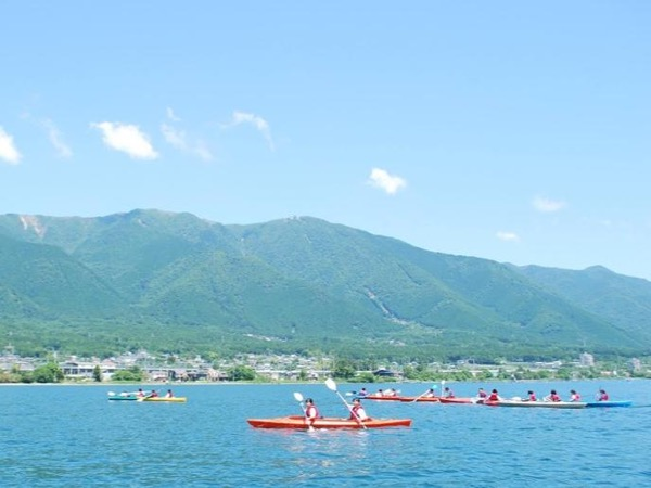 Let's Enjoy half day Water Sports on the lake from Kyoto !