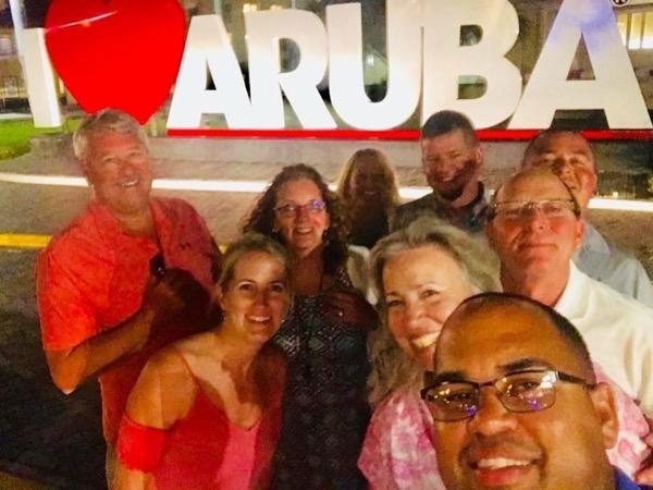 Arubas main cities Oranjestad to St Nicolas Nightlife experience