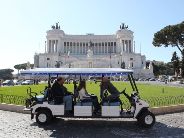 Rome Highlights by Golf cart