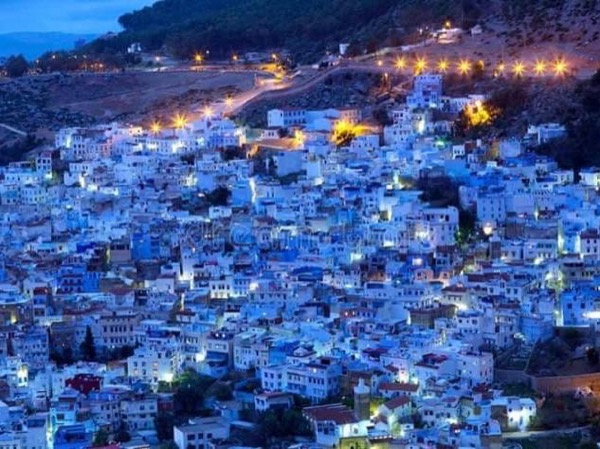 Chefchaouen the city of beauty .
