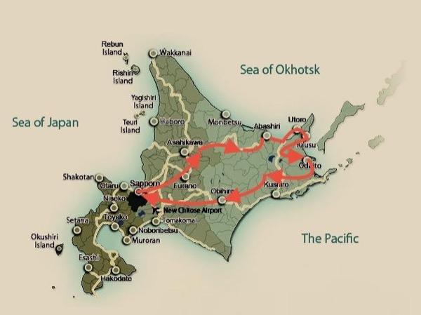 5 Days 'Wild Hokkaido' Luxury Private Tour.