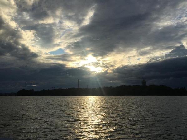 Helsinki city center sundown cruise Private Tour