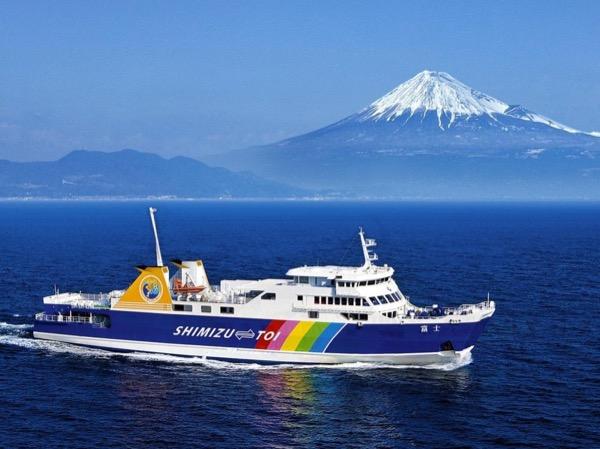 Shuzenji and Suruga Bay with Fuji