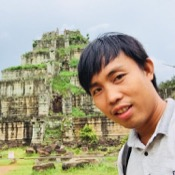 Private tour guide Chamroeun (John)