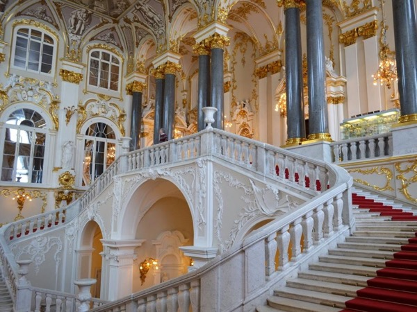 The biggest museum in Russia - The Hermitage