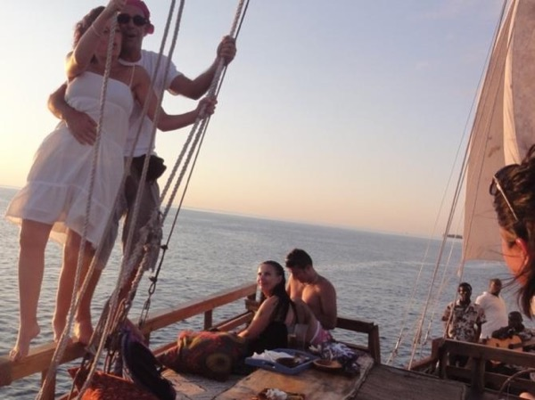 Indian Ocean Dhow Sunset Cruise Tour