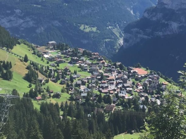 Day Excursion from Bern to Mürren including a village walking tour