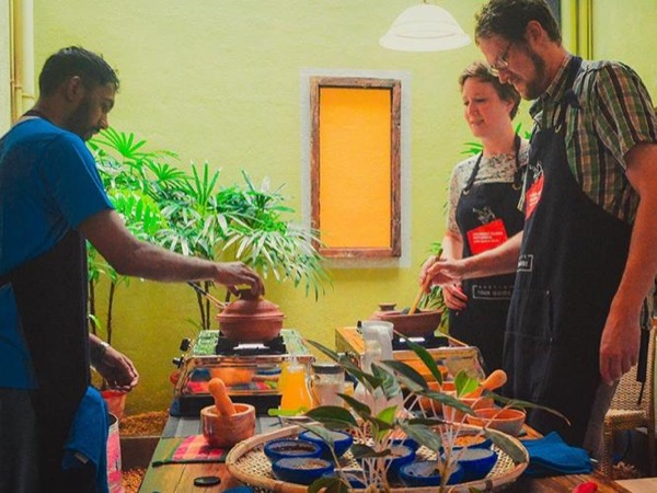 Colombo Vegan Cooking Class and Local Market Tour with Private tour guide