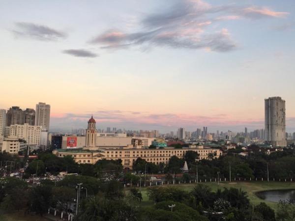 Glimpse of Metropolitan Manila