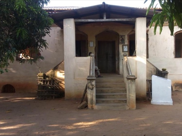 Discovering Agbodrafo slave castle
