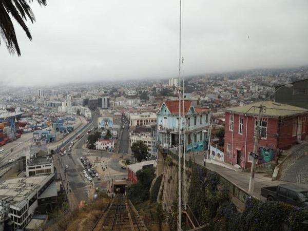 Valparaiso, Patrimony of Humanity, from Valparaiso passenger terminal