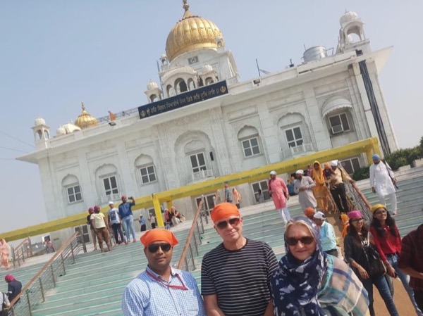 Delhi Temple Tour With Me