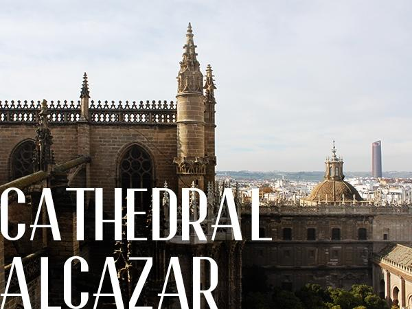 City Center, Reales Alcázares, Cathedral of Seville Private Tour.