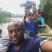 Private tour guide Mebah Markdonald