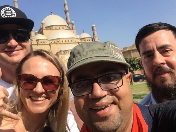 Private tour guide Hisham