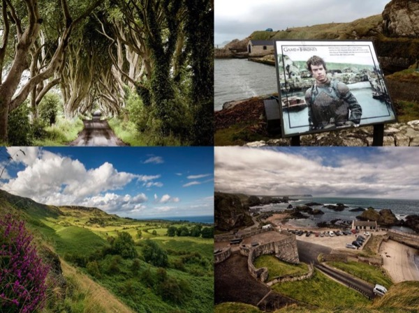 Shore Excursion: Game of thrones and Giant's Causeway Full-Day Tour From Belfast Port