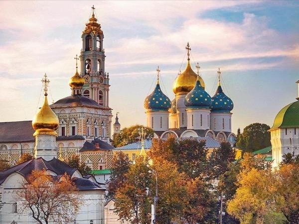 Holy Trinity Monastery in Sergiyev Posad private tour