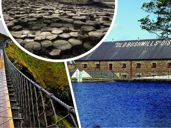 Northern Ireland Top Sightseeing 2 Full Day Trips Including Giant's Causeway Causeway Coast Game of Thrones Rope Bridge Belfast