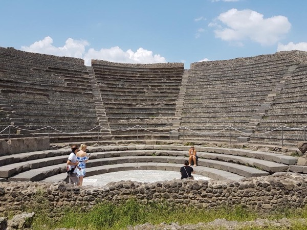 Five-hour guided tour of Pompeii