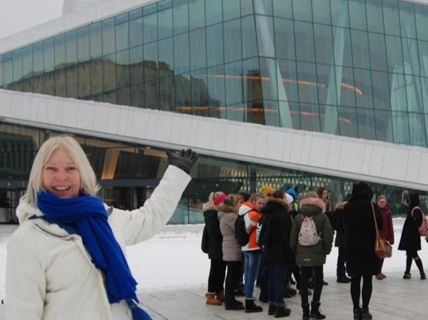 Private tour guide Judith Kristine Hagen