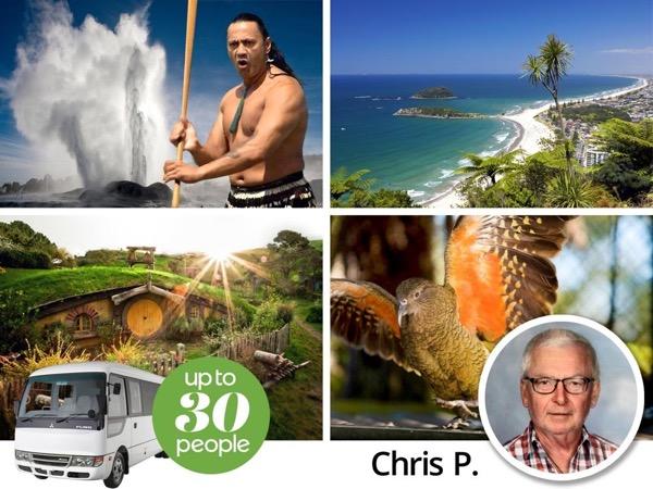 Private tour guide Chris