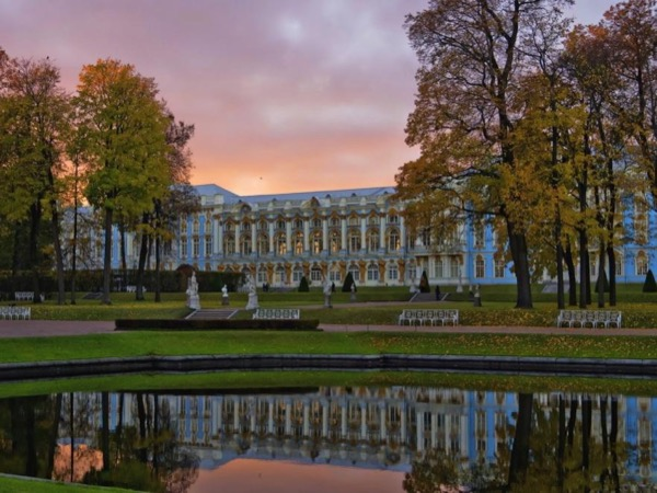 Former Royal residences. Peterhof and Tsarskoye selo.