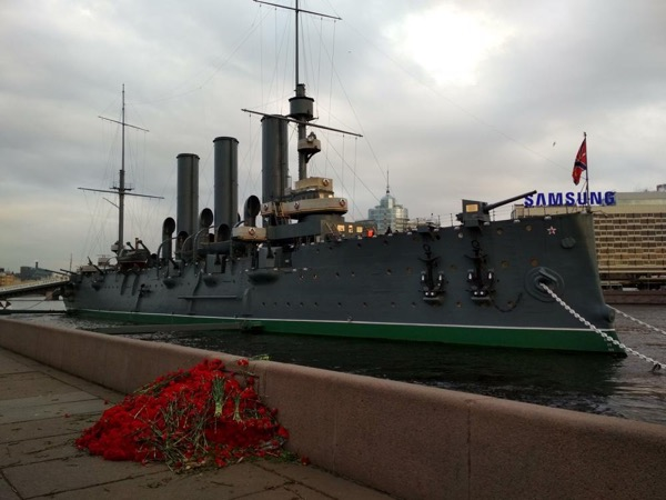 Russian Revolution Saint-Petersburg tour
