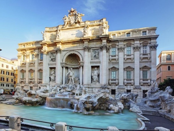 Squares and Fountains of the Eternal City