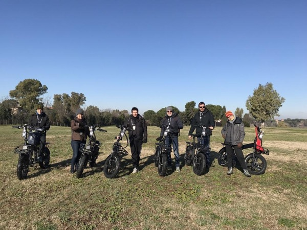 eBiking along the Appian Way