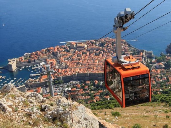 Dubrovnik Cable Car Ride & A Stroll Through the Old Town Private Tour