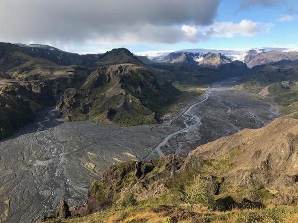 Thorsmork the Valley of the Gods