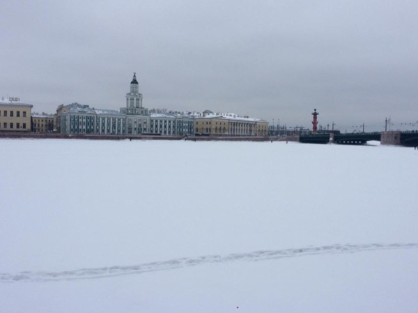 Saint Petersburg in Winter