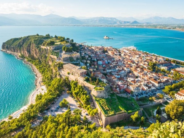 Sea Wonders: The Isthmus Of Corinth and Bourtzi
