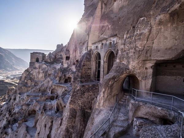 2 Day private tour of Borjomi City - Rabati (old castle) - Vardzia (cave town)