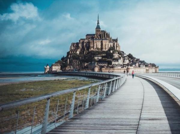 The marvel Mont Saint-Michel