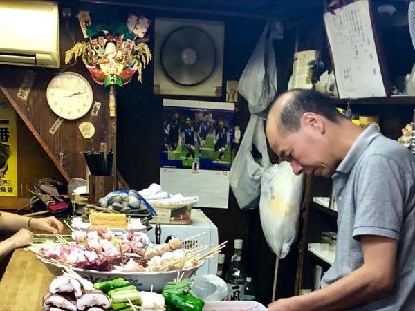 Night Tour in Central Tokyo, local bar, Izakaya, Yakitori...