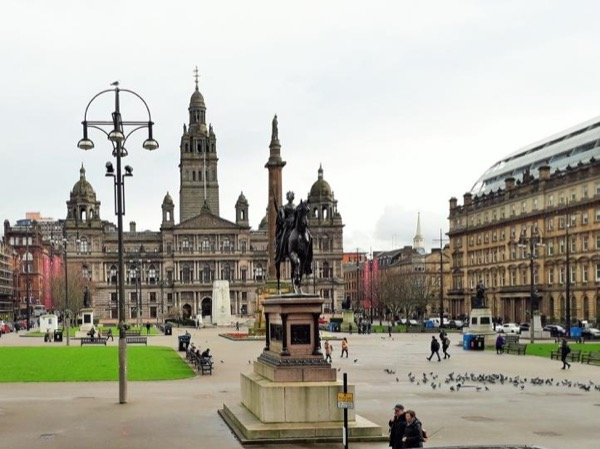 Glorious of Glasgow on Foot