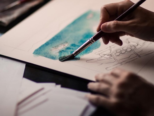 Malaga Drawing Tour: sketch your own postcards