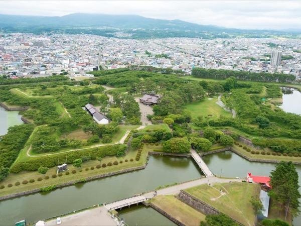 Goryokaku and Motomachi