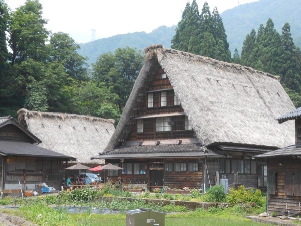 World heritage Shirakawago and Gokayama village one-day tour