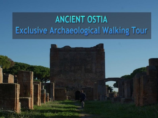 ANCIENT OSTIA - Exclusive Archaeological Walking Tour, a great alternative to Pompei (4 hours)