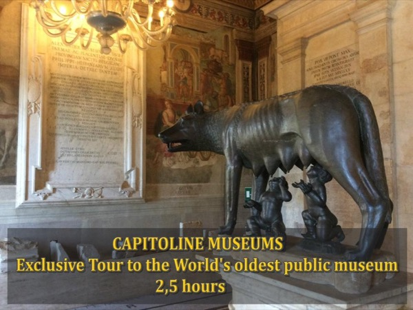 Exclusive Tour to the World's oldest public museum: Capitoline Museums (3 hours)