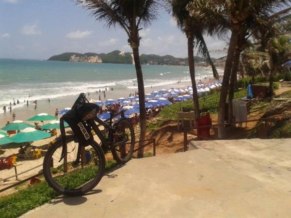 Natal city tour by bike