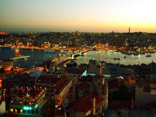 Golden horn old city private tour with public ferry by car