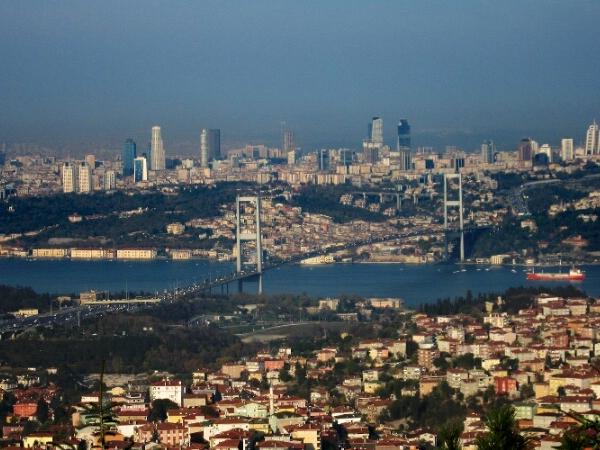 Private Tour of Bosphorus Tour with the Highest hill of Istanbul by car
