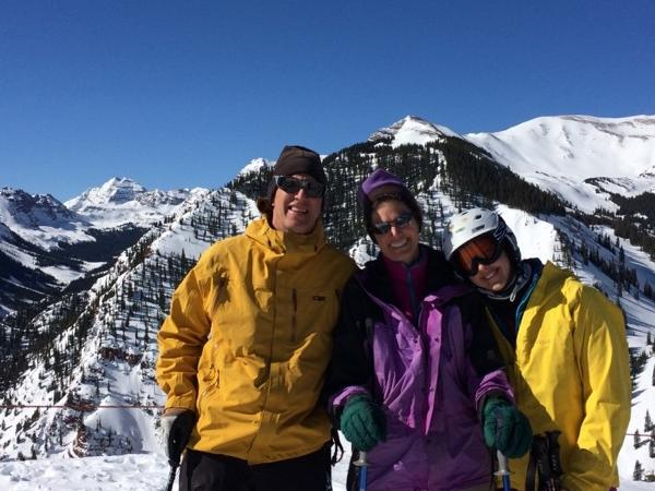 Skiing Aspen's Legendary Mountains